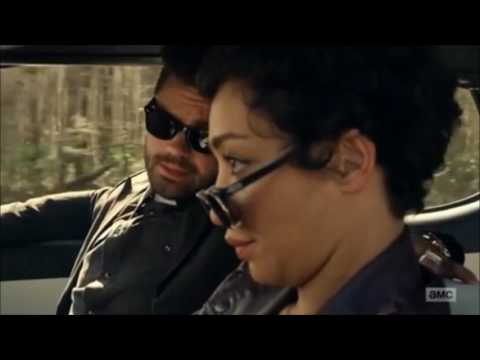 Preacher Season 2 - Come On Eileen (Car Chase Scene)