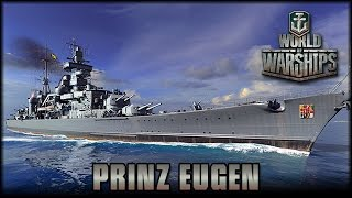 World Of Warships  Prinz Eugen  Admiral Hipper Klasse  Deutsch  Gameplay