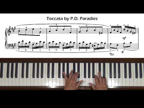 Paradies P D - Toccata in a