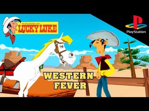 Обзор игры Lucky Luke Western Fever (Playstation 1) Вспомнить всё №1