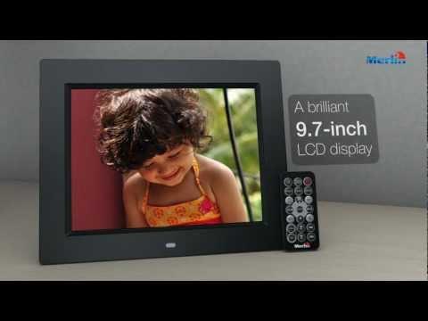 Merlin 9.7 inch Digital Photo Frame