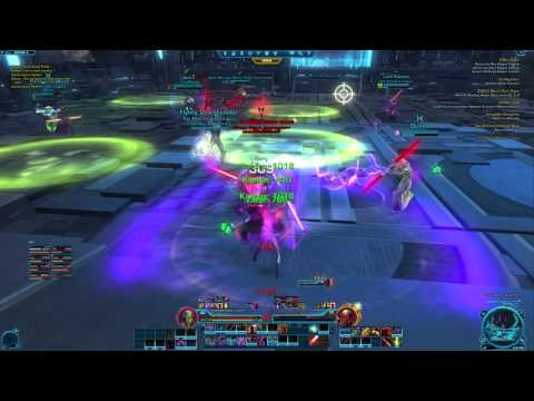 SWTOR Asation/Terror from Beyond 2nd Boss (Dread Guards) Strat