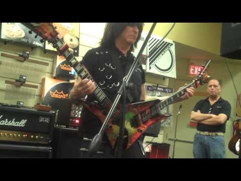 Michael Angelo Batio guitar clinic shred