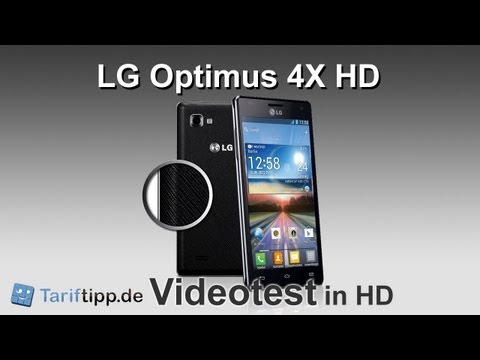 LG Optimus 4X HD   Test in HD (deutsch)
