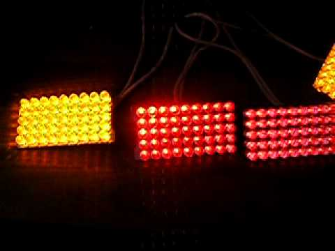 Задние светодиодные фонари своими руками фото