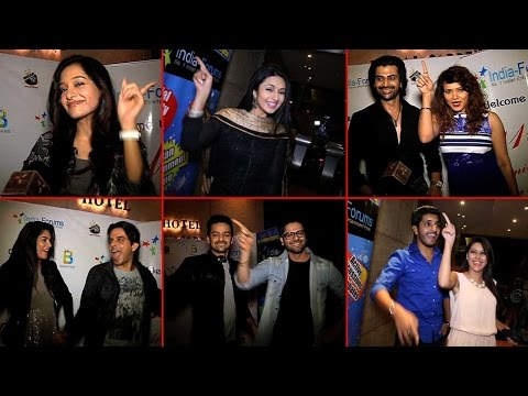 Tv Celebs Dance To Tunes Of Disco At India Forums