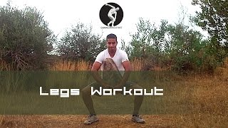 Legs Workout Squats Gain Muscle Fast n1