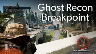 Ghost Recon Breakpoint PC gameplay at E3 2019