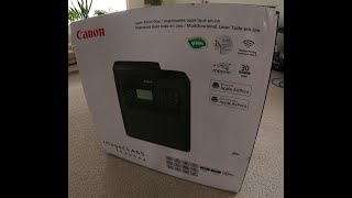 01. Canon iMageCLASS MF269DW Unboxing and setup