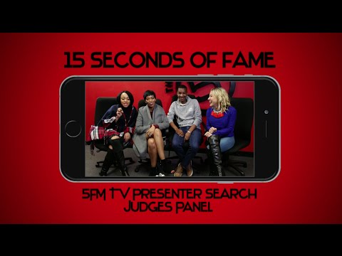 15 Seconds of Fame 15 Seconds of Fame Judges