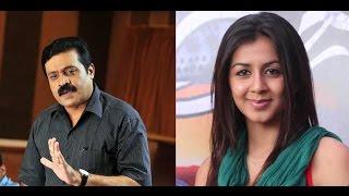 Suresh Gopi with Nikki Galrani