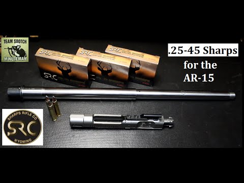 SRC 25-45 Sharps Caliber for AR 15 Rifles Full Review
