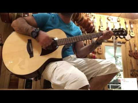 Test Ibanez AEW22CDNT  Acoustic-Electric Guitar