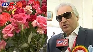 300 Varieties Of Roses Expo In Hyderabad