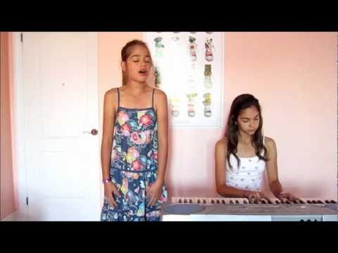 Set Fire To The Rain - Adele (Cover by Alisa, age 10 and Miss Mia, age 12) Music Videos