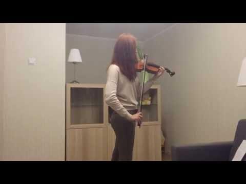Dota 2 -Explore layers. Violin cover