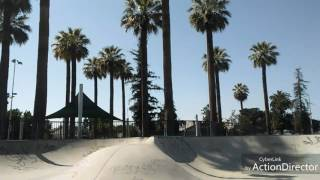 A bit of riding in Hanford, Visalia, Tulare CA skate parks