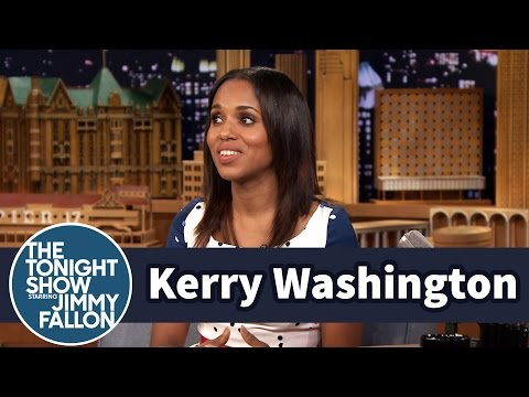 Kerry Washington Is a Mermaid Fanatic