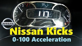 Nissan Kicks 1.5 Diesel 0-100 Acceleration test | Quick Review