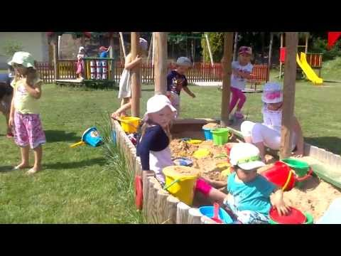 Baby Enjoy Outside With Friends ( Kinder Garden ) video