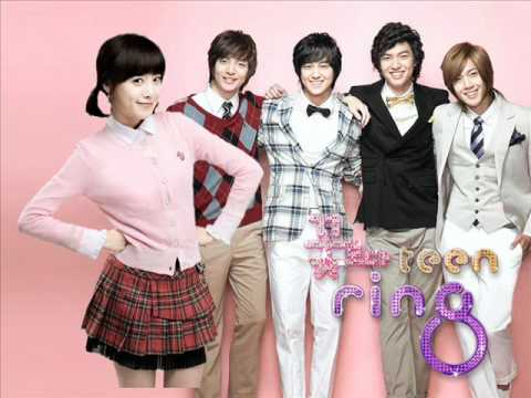 13 Boys Before Flowers Ost - Opening Title (paradise Intro.) video