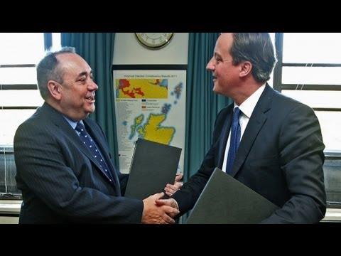 La Scozia vota per l'indipendenza nel 2014