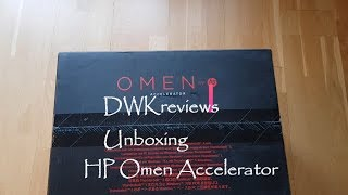 Unboxing HP Omen Accelerator eGPU and Connection to HP Spectre X360 13