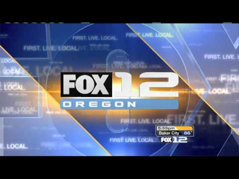 [HD] NEW Fox 12 6 O'Clock News Intro