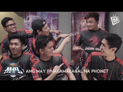 MOBILE LEGENDS PINOY PRO PLAYERS | Obsidian Gaming