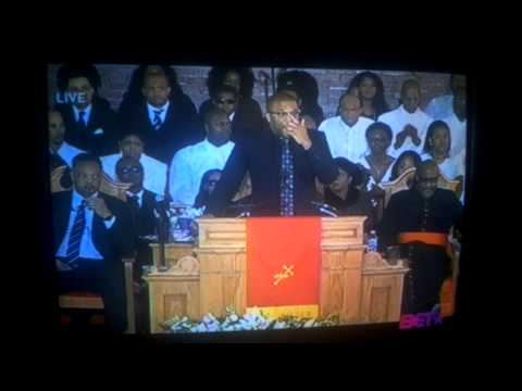 Tyler Perry@ Whitney Houston's Funeral