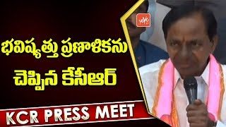 KCR about Future Plans | TRS Victory | Telangana Elections Results 2018