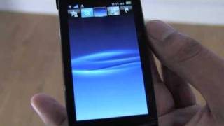 Sony Ericsson Vivaz and Vivaz Pro walk through