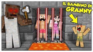 SCAPPIAMO DALLA PRIGIONE DEL NIPOTINO DI GRANNY! - Minecraft ITA