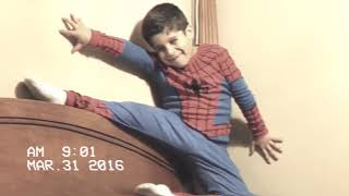 6 Year Old with Spidey Powers!