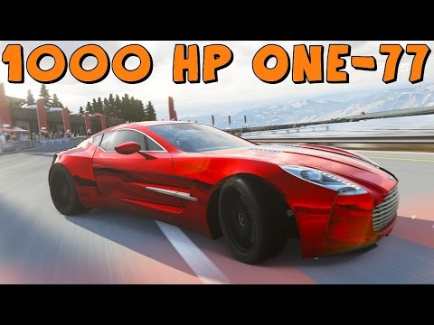 Forza 5   1000 HP Aston Martin One-77   Drift Build