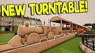 HUGE TRAIN & TURNTABLE UPDATE! - Tracks - The Train Set Game Gameplay - Toy Train