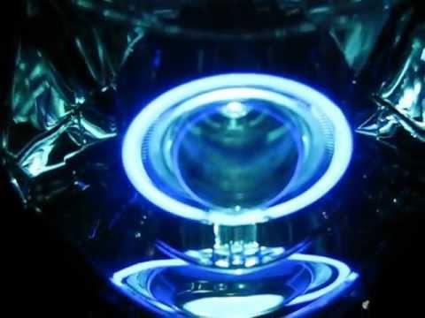Angel eye color blue white moto tsitinis crypton x 135 i yamaha parts.avi