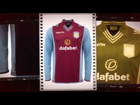 Aston Villa Home Football Shirt 2014/15 by Macron