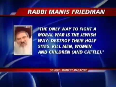 Chabad Rabbi: 'Destroy Holy Sites, Kill Men, Women, Children and Cattle'