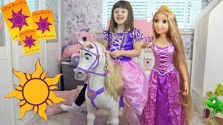 KIDS PLAYDATE WITH PRINCESS RAPUNZEL!!