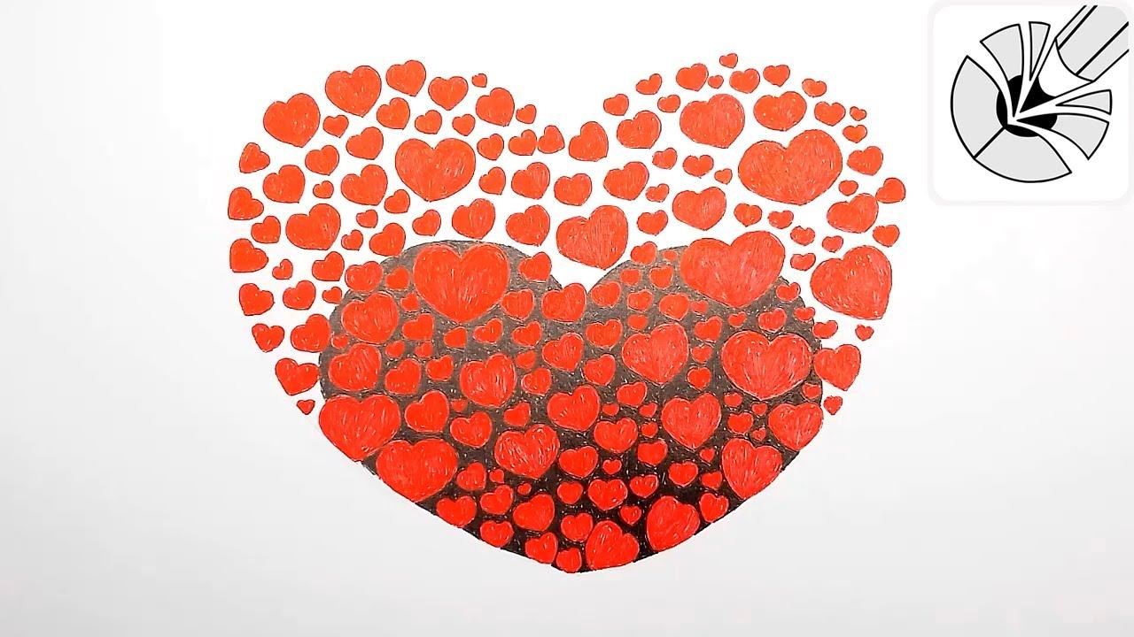 красивое сердечко картинка
