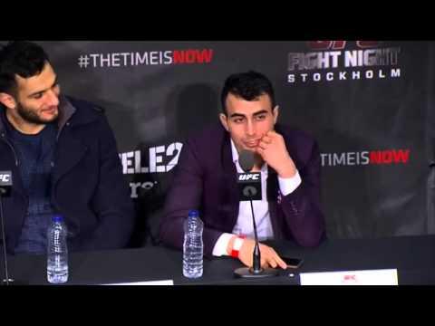 "Makwan ""Mr Finland"" Amirkhani Press Conference Highlights (UFC on FOX 14)"