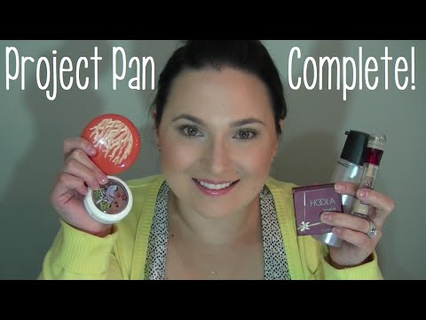 Project Pan Finale! ♥ Makeup & Beauty items to finish up! ♥ July 2014 #3