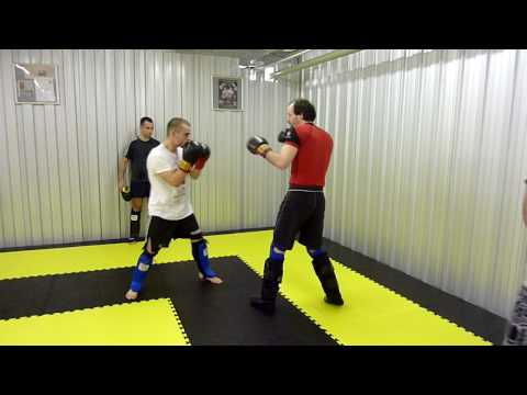 Light Kick Boxing Sparring at GoW Reading Image 1