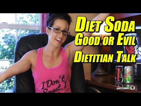 Diet Soda - Good or Evil - Dietitian Talk