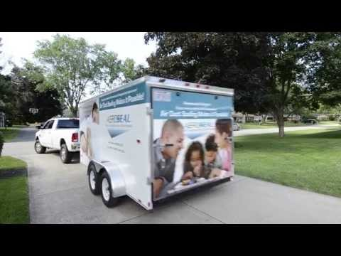 HomeSeal PRO and Aeroseal Mobile PRO Trailer