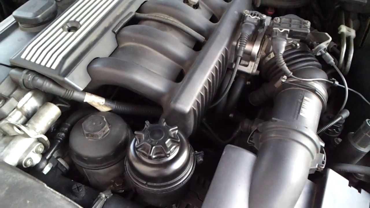 Bmw E39 523i 5er Motorraum Klackern Servo Youtube
