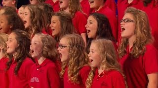 "America's Got Talent S09E05 One Voice Children's Choir sing ""Burn"" by Ellie Goulding"