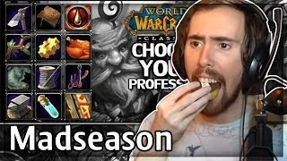 "Asmongold Reacts to ""WoW Classic Profession Picking Guide"" Parts 1 and 2 by MadSeasonShow"