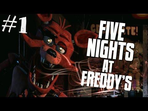 Заценим Five Nights at Freddy`s - МОЙ ПЕРВЫЙ РАЗ С ФРЕДДИ